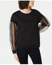 INC International Concepts - I.n.c. Long-sleeve Illusion Sweatshirt, Created For Macy's - Lyst