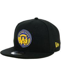 online retailer c55c1 26e79 KTZ California Golden Bears State Flective 9fifty Snapback Cap in Black for  Men - Lyst