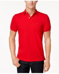 Tommy Hilfiger - Custom Fit Ivy Polo, Created For Macy's - Lyst
