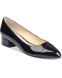 Ivanka Trump - Larrie Cap-toe Court Shoes - Lyst