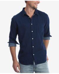Wrangler - Long Sleeve Double Cloth Shirt - Lyst