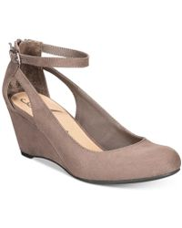 American Rag - Miley Chop Out Wedges, Created For Macy's - Lyst