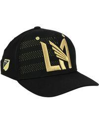best sneakers e565f a8aaa adidas Atlanta United Fc Authentic Flex Cap in Black for Men - Lyst