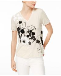 Weekend by Maxmara - Fiacre Embellished Pleated-back Top - Lyst