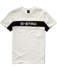 bceadc16825 G-Star RAW Graphic 6 Round Neck Short Sleeve T-shirt in Red for Men - Lyst