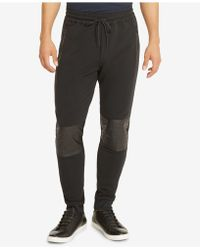 Kenneth Cole Reaction - Men's Patch Knee Jogger Trousers - Lyst