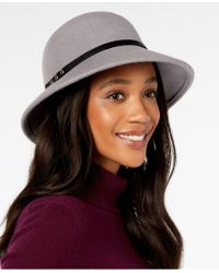 Nine West - Felt Trench Cloche, Created For Macy's - Lyst