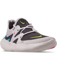 the best attitude 0c679 18db3 Nike - Free Run 5.0 Running Sneakers From Finish Line - Lyst