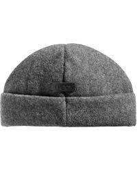 2b7089050528d Lyst - UGG Stonewashed Cuffed Hat in Black for Men