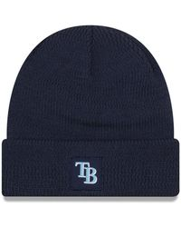 competitive price b7f8e 48861 KTZ - Tampa Bay Rays Sport Knit Hat - Lyst