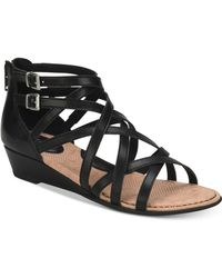 b.ø.c. - Mimi Wedge Sandals - Lyst