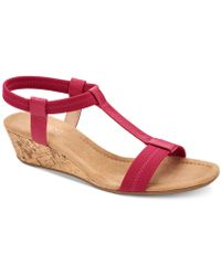 Alfani - Step 'n Flex Voyage Wedge Sandals, Created For Macy's - Lyst