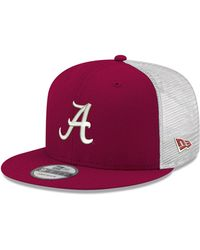 timeless design 13ff7 880df KTZ Alabama Crimson Tide Ncaa White Black 59fifty Cap in White for Men -  Lyst