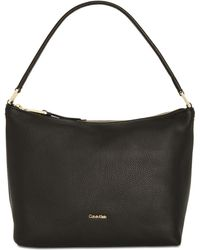 CALVIN KLEIN 205W39NYC - Angelina Pebble Medium Hobo - Lyst