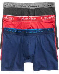 CALVIN KLEIN 205W39NYC - Men's 3-pk. Boxer Briefs - Lyst