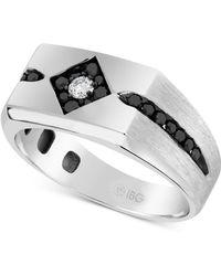 Macy's - Diamond Ring (5/8 Ct T.w.) In 10k White Gold - Lyst