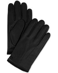 Calvin Klein - Triple Point Knit-cuff Gloves - Lyst