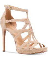 Michael Kors - Michael Sandra Platform Caged Dress Sandals - Lyst