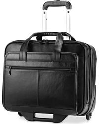 Samsonite - Rolling Leather Business Case, Mobile Office - Lyst