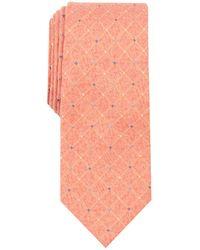 Perry Ellis - Nenad Grid Slim Tie - Lyst