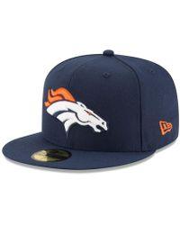meet b090c 4d881 KTZ Team Hasher Denver Broncos in Blue for Men - Lyst