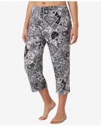 Ellen Tracy - Plus Size Yours To Love Capri Pajama Pants - Lyst
