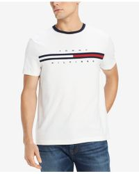 8bfacd3802663d Lyst - Tommy Hilfiger Graphic Logo T-shirt