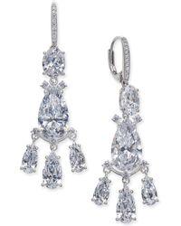 Danori - Silver-tone Crystal Chandelier Earrings, Created For Macy's - Lyst