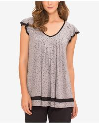 Ellen Tracy - Yours To Love Short Sleeve Top - Lyst