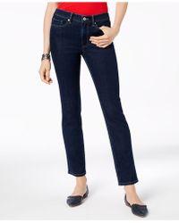 ff6bdcf0ec2fb Lyst - Tommy Hilfiger Rinse Wash Flared Jeans