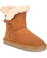 Style & Co. - Tiny Low Shaft Faux-fur Cold Weather Booties - Lyst