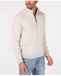 Tommy Bahama - Reversible Flipsider Half-zip Sweatshirt - Lyst