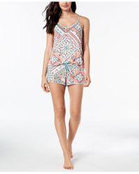 Linea Donatella - Cateline Patch Lace-keyhole Pajama Set - Lyst