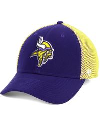 a000eedc3a6 47 Brand - Minnesota Vikings Comfort Contender Flex Stretch Fitted Cap -  Lyst