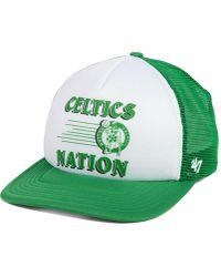 fc788def67d66 Lyst - Adidas Boston Celtics Practice Flex Cap in Green for Men