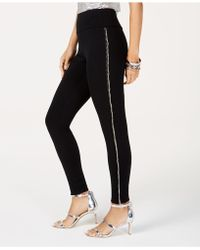 INC International Concepts - I.n.c. Beaded-fringe Ponté-knit Pants, Created For Macy's - Lyst