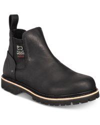 Woolrich - Skookum Waterproof Leather Chelsea Boots - Lyst