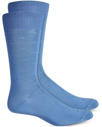 Perry Ellis - Microfiber Dress Socks - Lyst