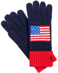 Polo Ralph Lauren | Olympic-inspired Usa Gloves | Lyst
