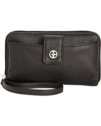 Giani Bernini - Softy Leather Tech Wristlet, Created For Macy's - Lyst