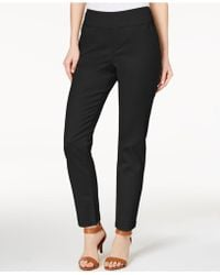 Style & Co. - Ankle Skinny Trousers, Created For Macy's - Lyst