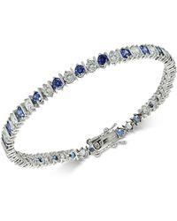 Giani Bernini | Cubic Zirconia Tennis Bracelet In Sterling Silver | Lyst