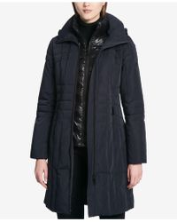 CALVIN KLEIN 205W39NYC - Layered Down Puffer Coat - Lyst
