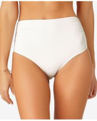 Anne Cole - Live In Color High-waist Swim Bottoms - Lyst