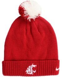 Nike - Washington State Cougars Beanie Sideline Pom Hat - Lyst