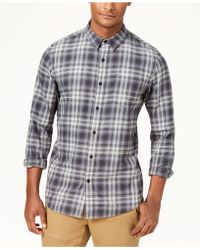 American Rag - Plaid Shirt, Created For Macy's - Lyst