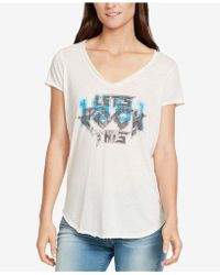 William Rast - Let's Rock This T-shirt - Lyst