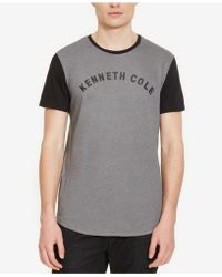 Kenneth Cole Reaction - Men's Colorblocked Graphic-print Logo T-shirt - Lyst