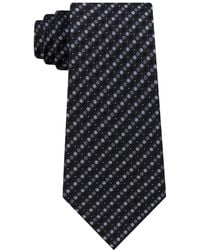 Kenneth Cole Reaction - Eclipse Dot Silk Tie - Lyst