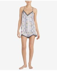 Betsey Johnson - Printed Camisole Pajama Set - Lyst